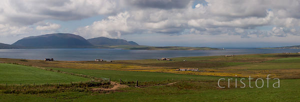 Looking across to the Isle of Hoy from Mainland