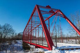 Charlotte Highway Bridge in Historic Bridge Park, Calhoun County, MI