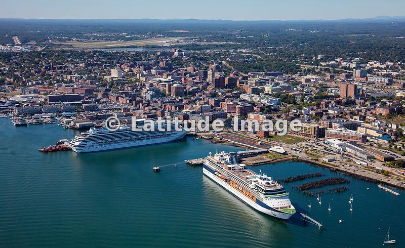 Latitude Image Celebrity Summit Cruise Ship In Portland Maine