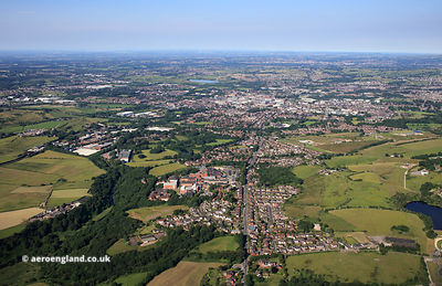 Jericho, Bury Greater Manchesterfrom the air
