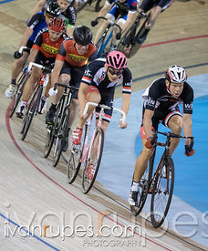 Cat 3 Men Points Race, 2016/2017 Track O-Cup #1, Mattamy National Cycling Centre, Milton, On, December 4, 2016