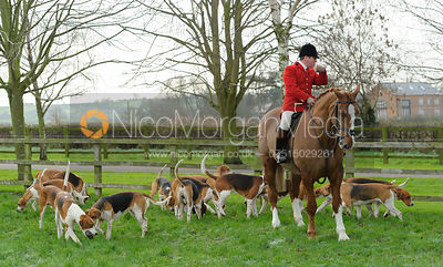 The Belvoir Hunt at Long Clawson 16/1 photos
