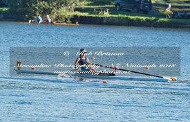 Taken during the National Championships 2018, Lake Karapiro, Cambridge, New Zealand; ©  Rob Bristow; Frame 0702 - Taken on: Thursday - 15/02/2018-  at 08:03.30