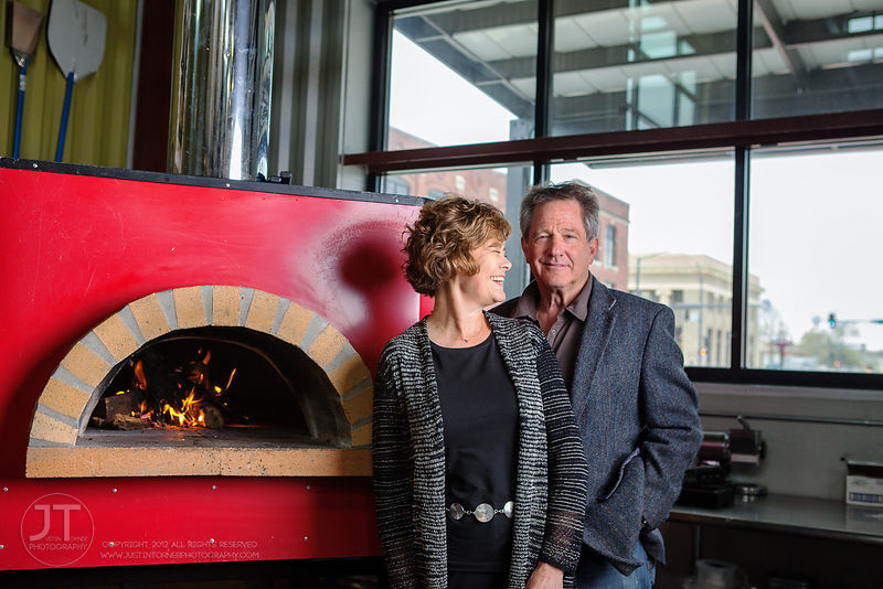Gazette - Jerry and Carolyn Zimmerman, Maggie's Wood Fired Pizza photos