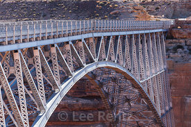 Navajo Bridge Spanning the Colorado River