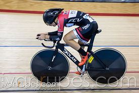 Junior Women Omnium Individual Pursuit. Milton International Challenge, Mattamy National Cycling Centre, Milton, On, September 30, 2016