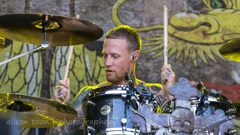 Jeff Fabb, drums, Black Label Society
