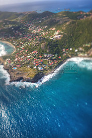 St. Barthelemy from the Air