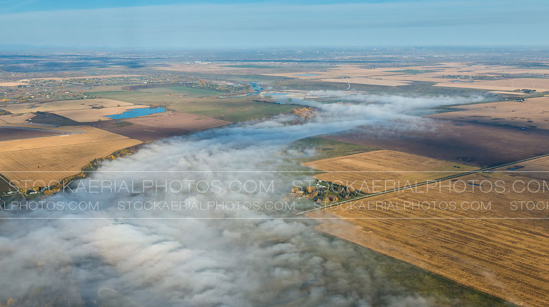 Bow River Valley Fog