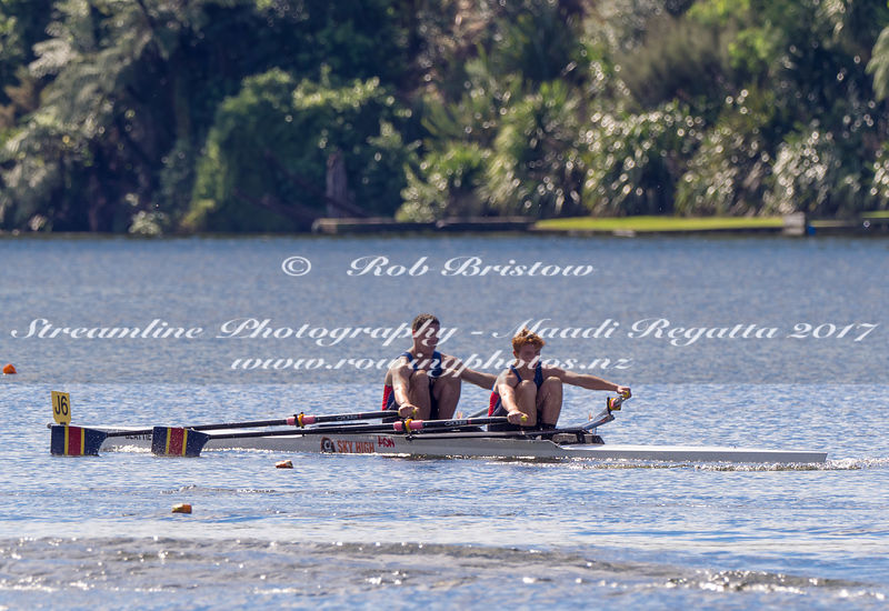 Taken during the NZSSRC - Maadi Cup 2017, Lake Karapiro, Cambridge, New Zealand; ©  Rob Bristow; Frame 1368 - Taken on: Friday - 31/03/2017-  at 15:09.55
