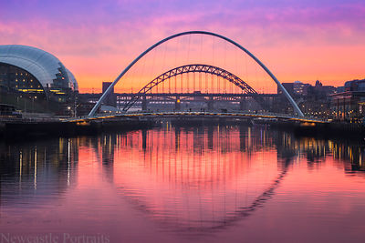 Millennium Bridge Sunset