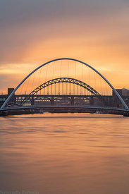 River Tyne Sunset Long Exposure