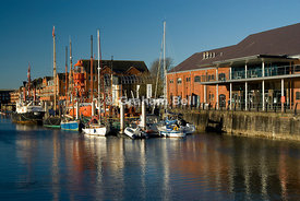 swansea maritime quarter and national waterfront museum swansea wales