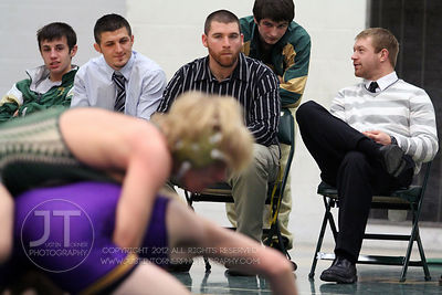 Iowa City West vs Indianola Wrestling 2/8/2012