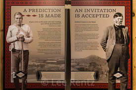 Exhibit in Visitor Center at Hubbell Trading Post