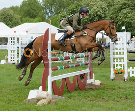 Simon Grieve - Rockingham Castle International Horse Trials 2016