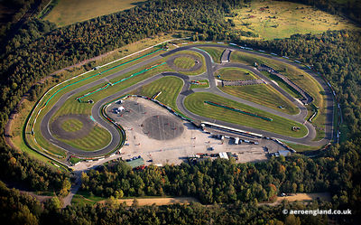 aerial photograph of Three Sisters Race Track Wigan Wigan, Lancashire UK