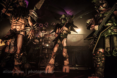 SACRAMENTO, 19 OCT 2013: GWAR performing at the Ace of Spades, Sacramento.