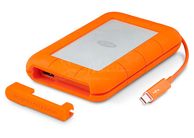 Review LaCie Rugged Thunderbolt photos