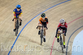U17 Women Keirin Round 1 Ontario Track Provincial Championships, March 6, 2016