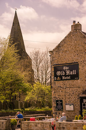 Old Hall Hotel Hope Michael Cummins Landscape Photographies