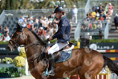 Denis LYNCH  ,(IRL), SONGE DE TOSCANE during Coca-Cola Trofey competition at CSIO5* Barcelona at Real Club de Polo, Barcelona - Spain
