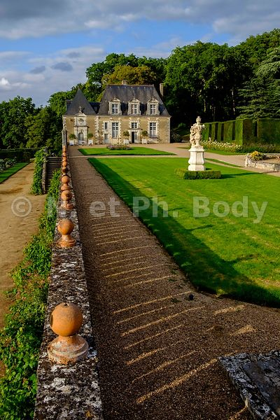 FRANCE, INDRE ET LOIRE, CHATEAU ET JARDINS DE VALMER//France, Loire Valley, Valmer Castle and Gardens