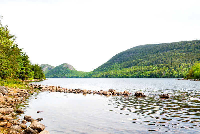 JORDAN POND ACADIA NATIONAL PARK MAINE