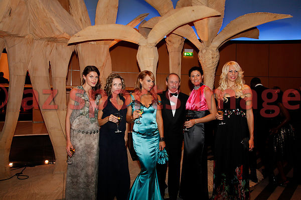 Anna Chicherova, Olha Saladuha,Nataliya Dobrynska,Tatyana Chernova at the IAAF Gala Monaco - Athlete of the year event