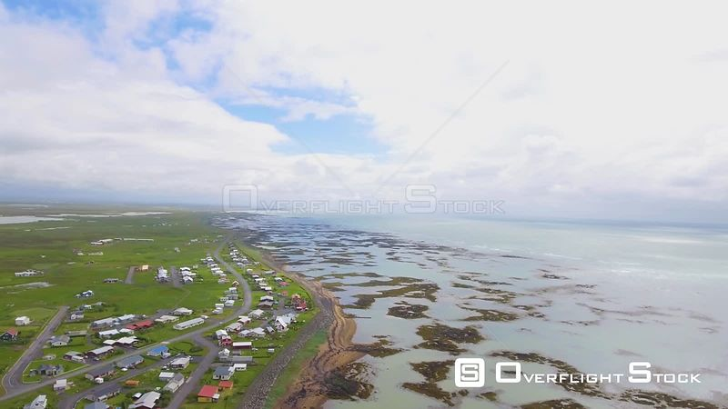 Stokkseyri Beach Iceland Drone Video