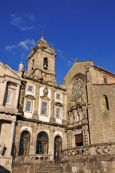 São Francisco Church, a UNESCO World Heritage Site. Oporto, Portugal