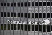 Plains Capital bank Building in downtown Dallas, TX
