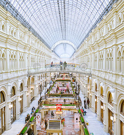 GUM — Moscow's Main Department Store