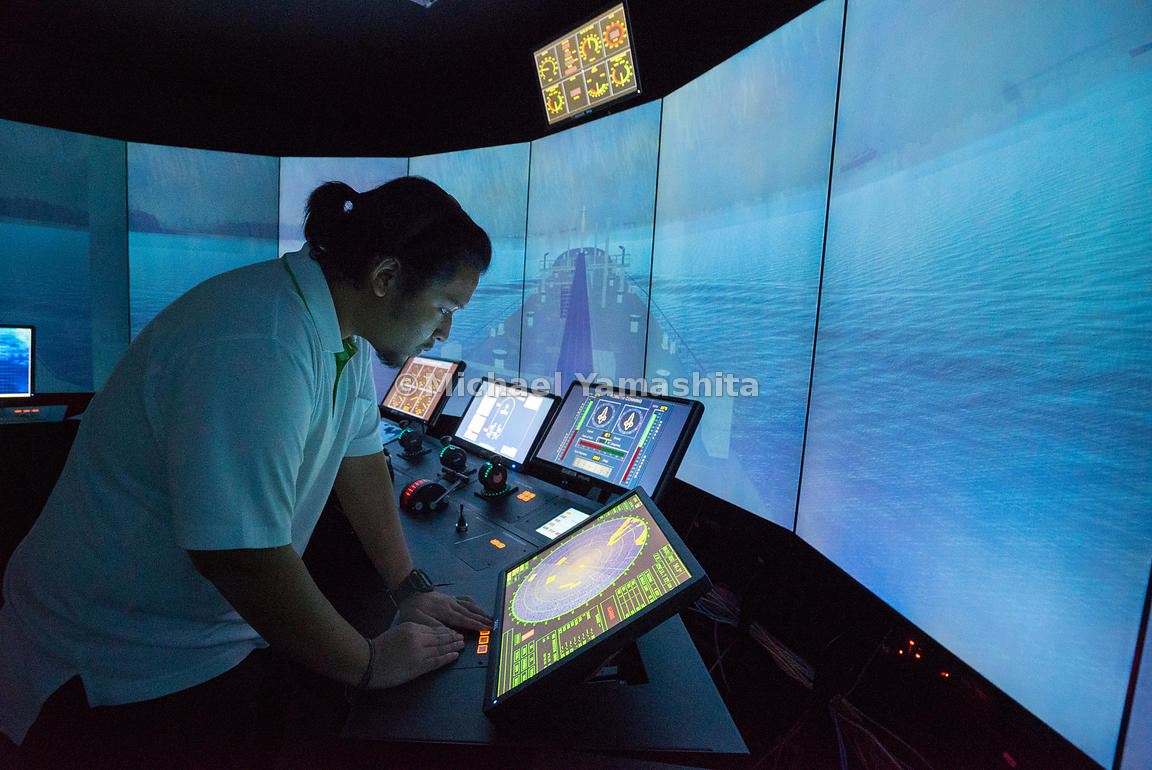 Simulation-based training exposes maritime officers to a series of realistic sea navigation scenarios in a risk-free environment.