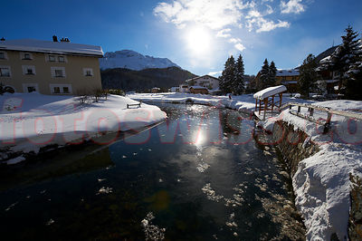 Stock Engadin Valley Winter photos