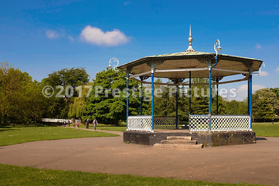 Bandstand in the Pump Room Gardens, Leamington Spa