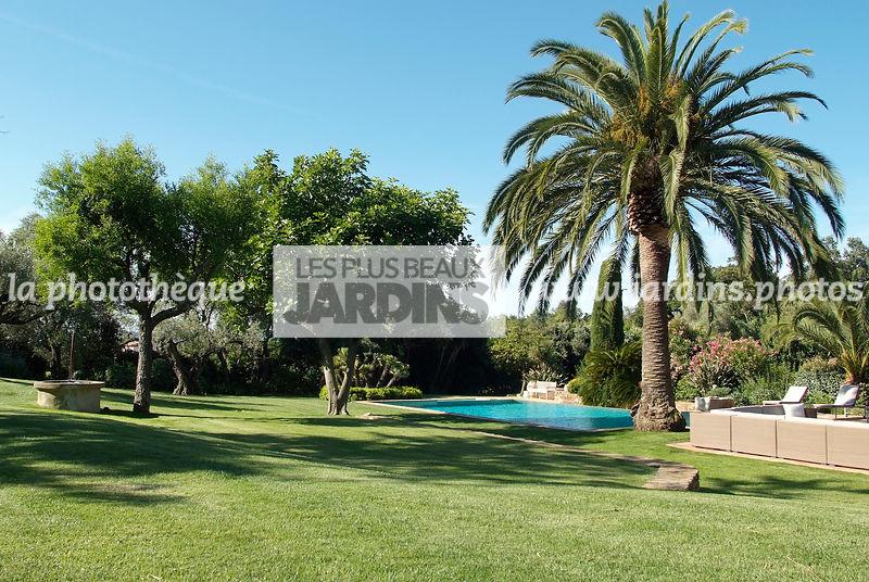 La phototh que les plus beaux jardins grande pelouse for Conception jardin mediterraneen