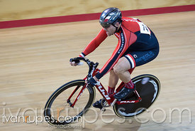 Master C/D Men Sprint Qualification. Ontario Track Championships, Mattamy National Cycling Centre, Milton, On, March 4, 2017