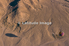 Ballon Flying Over The Western Desert, Luxor