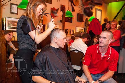 "Red Shamrock Foundation ""Bald is the New Beautiful"" Head Shaving Event"", Dublin Underground, November 8, 2012"