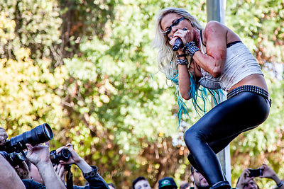 Butcher Babies, Aftershock 2013