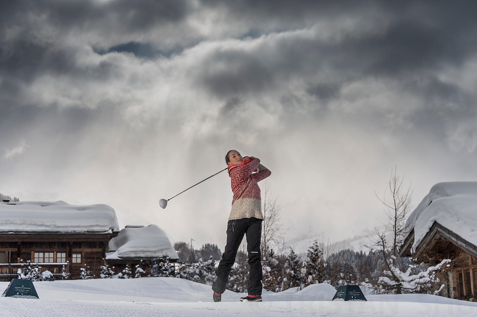 Vacheron Constantin Snow Golf Cup 2013
