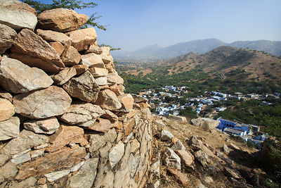 Abandoned fort above Banwal village, Rajasthan, India