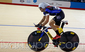 Men's omnium 1km time trial. 2014 Canadian Track Championships, January 5, 2015