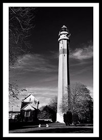 Phare du Touquet BW