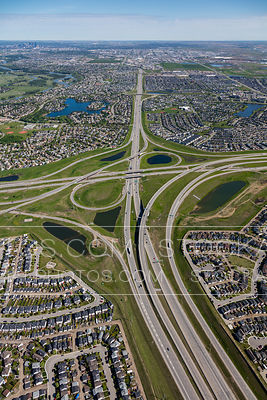 Deerfoot Trail at Stoney Trail SE