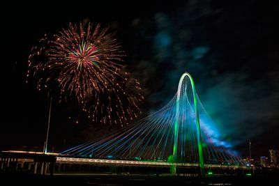 Margaret Hunt Hill Bridge Fireworks 3