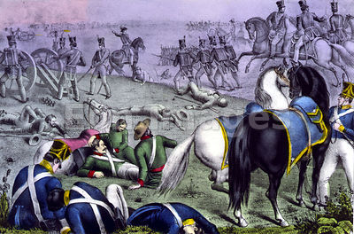 Battle of Resaca de la Palma during Mexican-American War