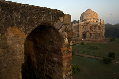 India - New Delhi - The Bara Gumbad, Lodhi Gardens
