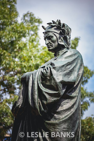 Dante Statue at Meridian Hill Park